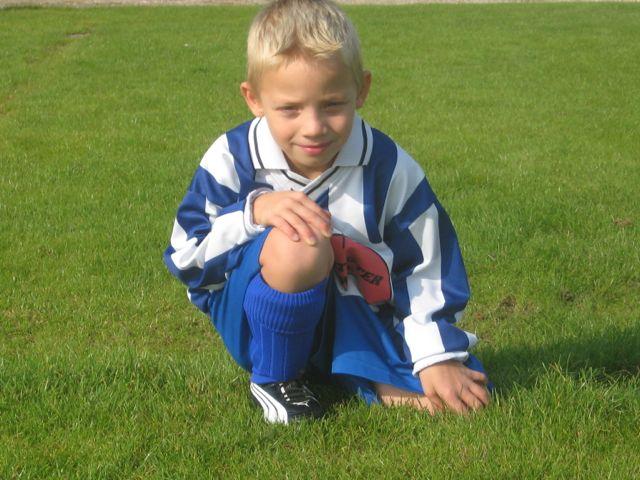 Ik vind voetballen leuk