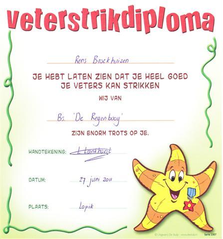 Het veter diploma