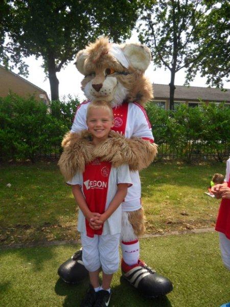 Onze Ajax fan.