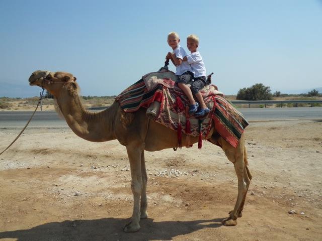 thijn-en-levi-op-de-kameel