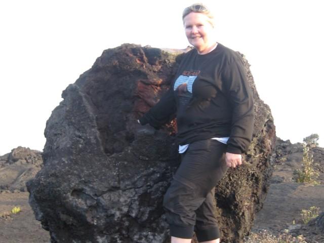 Een lava tree.