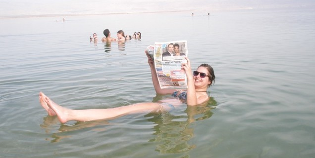 Miranda in de dode zee