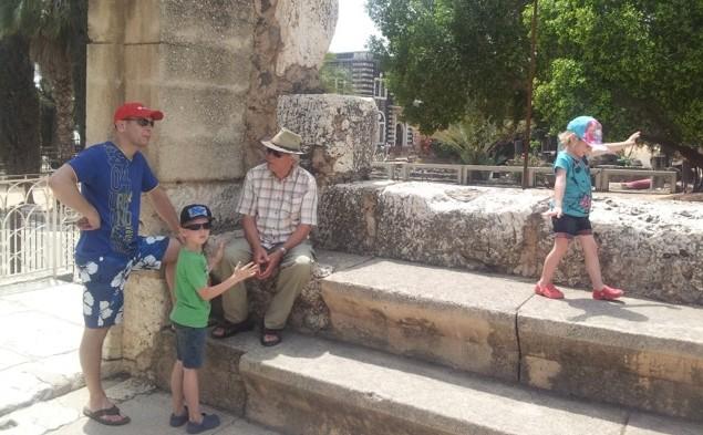Kinderen in Synagoge
