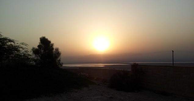 Zonsopgang Masada
