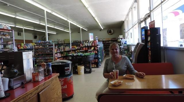 De winkel in het navajo reservaat.
