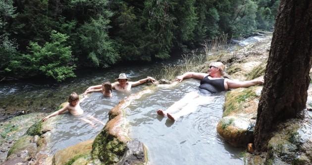 Heerlijke warm water bronnen.